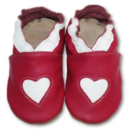 chausson souple coeur