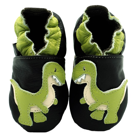 chausson cuir souple dino kenabeo